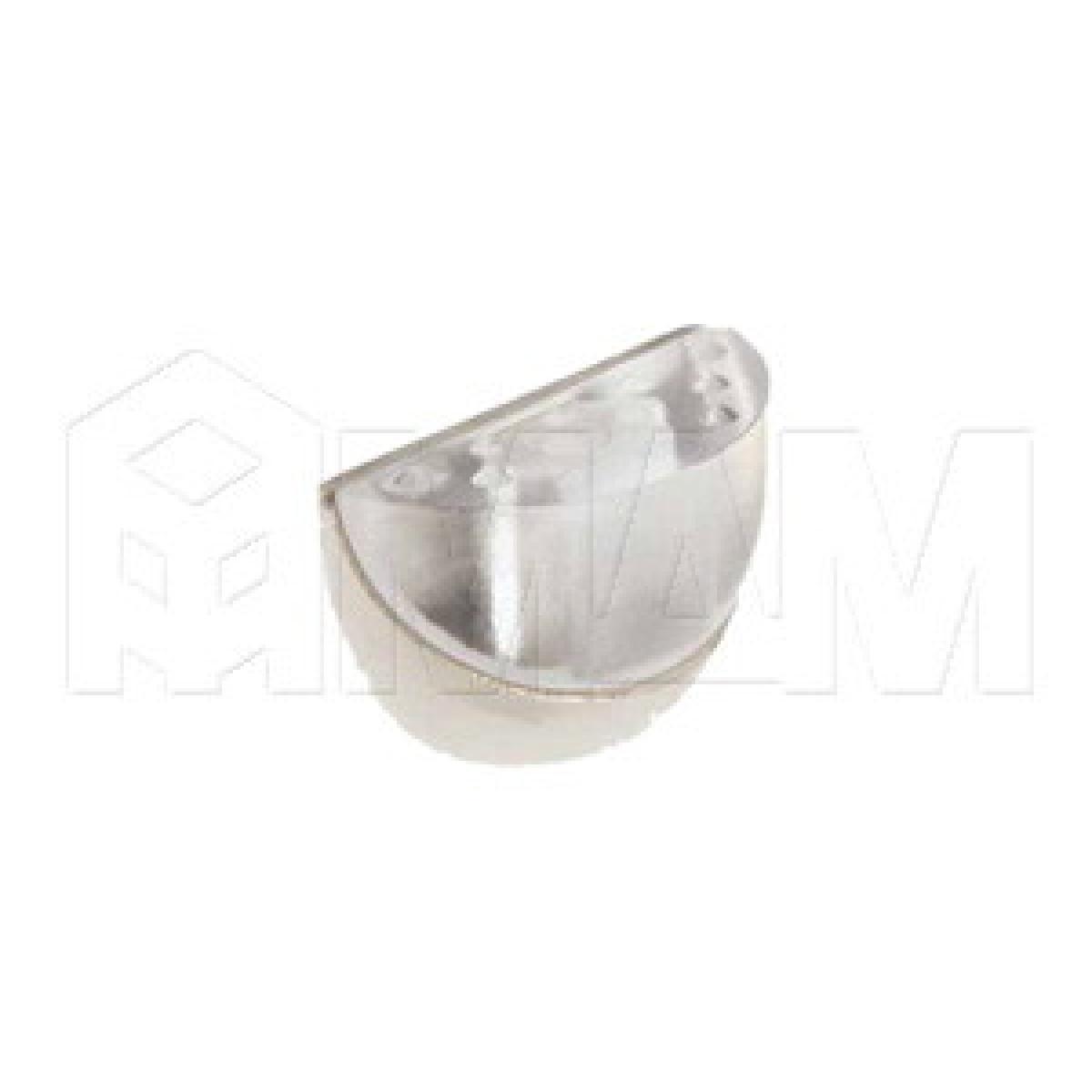 Полкодержатель DUO (никель/прозрачный)
