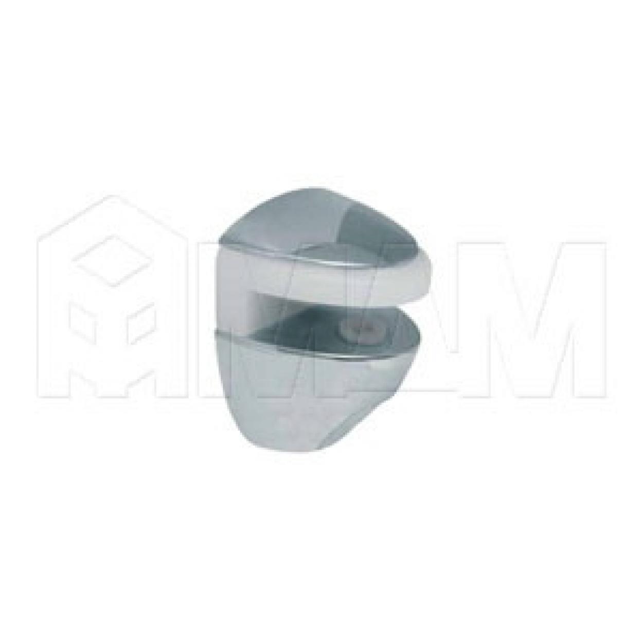 COBRA Полкодержатель для стеклянных полок толщиной 5-6 мм, под саморез, хром