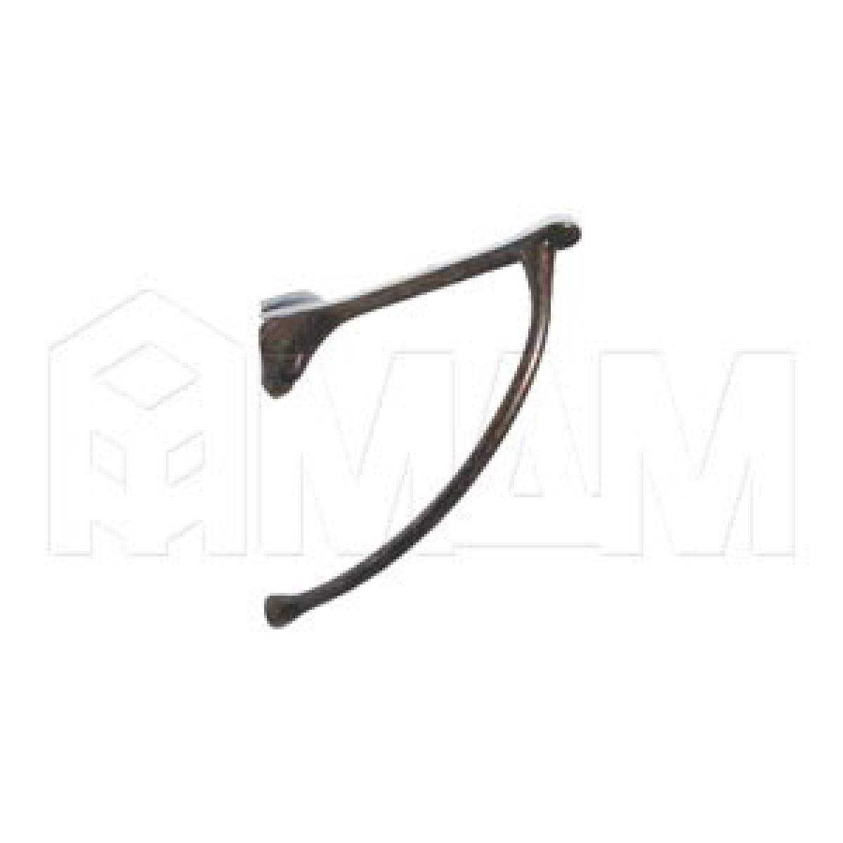 Менсолодержатель для деревянных и стеклянных полок 6 - 20 мм, L-149 мм, бронза патинированная (2 шт.)