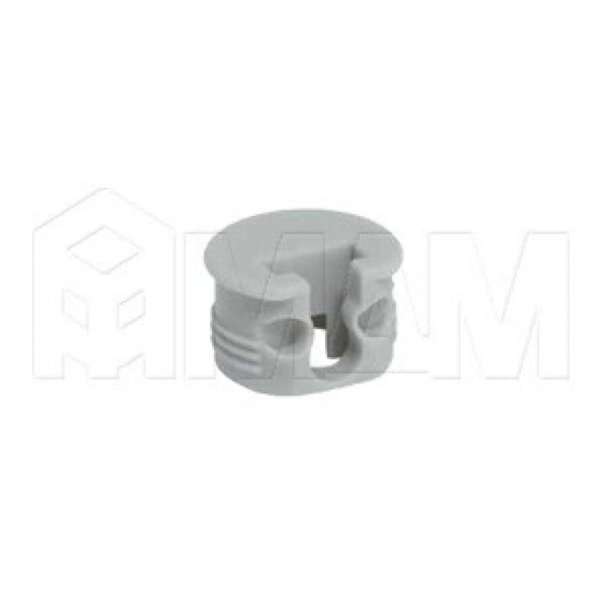 SI03 Полкодержатель для деревянных полок с фиксацией, серый