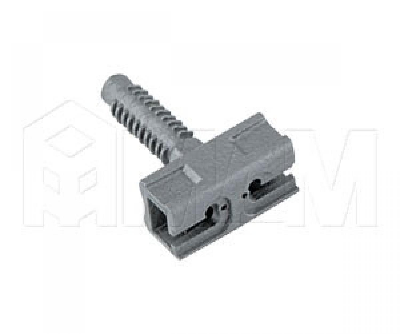 ZERO Скрытый фронтальный полкодержатель для деревянных полок толщиной от 18 мм с фиксацией