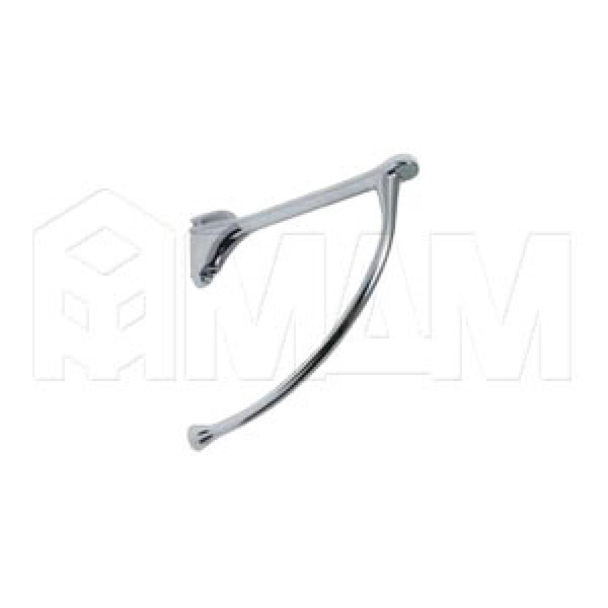 Менсолодержатель для деревянных и стеклянных полок 6 - 20 мм, L-149 мм, хром (2 шт.)