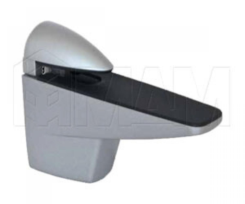ПЕЛИКАН Менсолодержатель для деревянных и стеклянных полок 8 - 38 мм, хром матовый