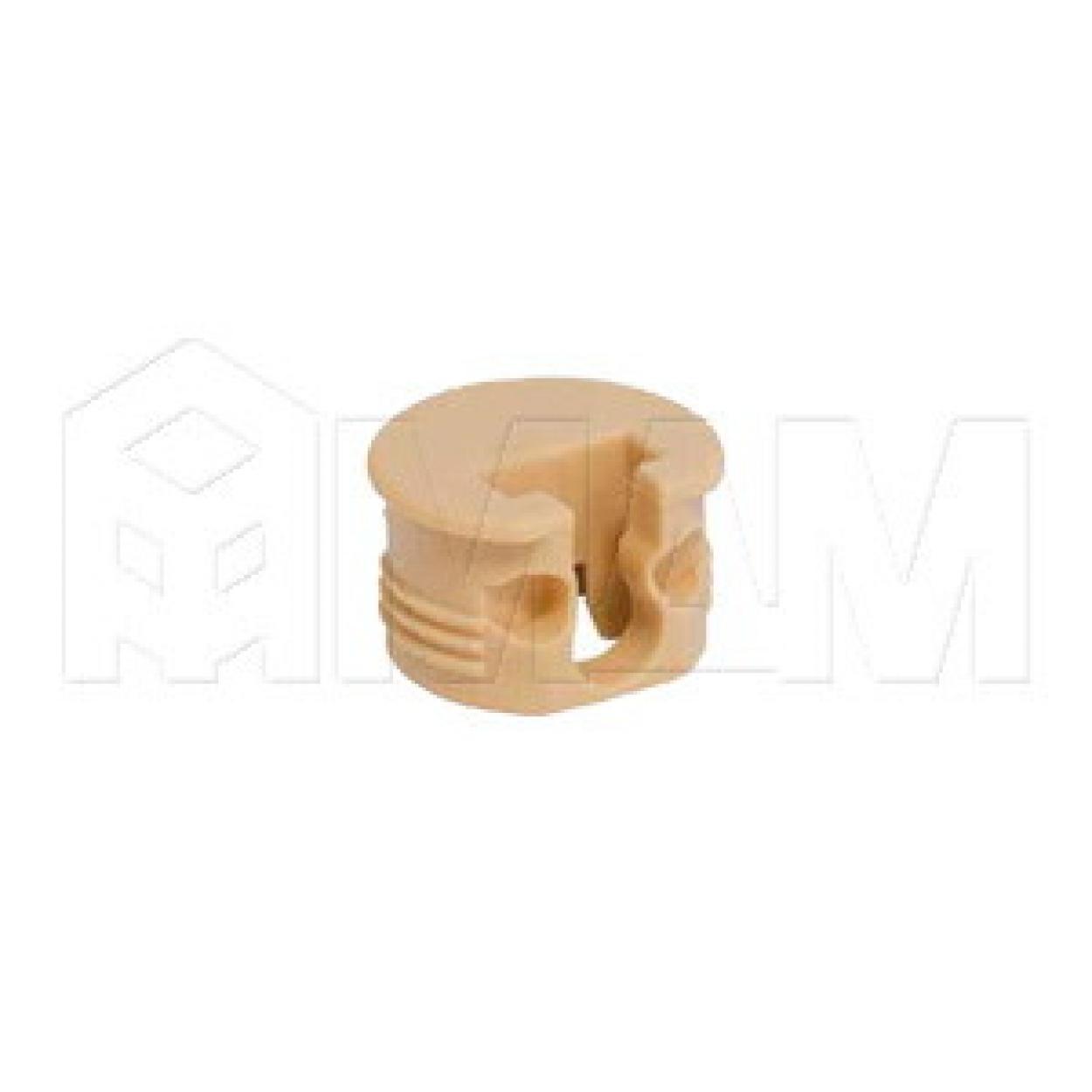 SI03 Полкодержатель для деревянных полок с фиксацией, бежевый