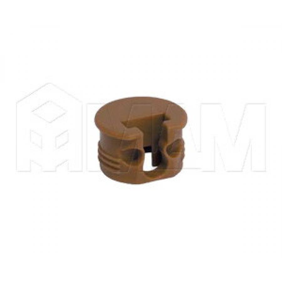 SI03 Полкодержатель для деревянных полок с фиксацией, дуб