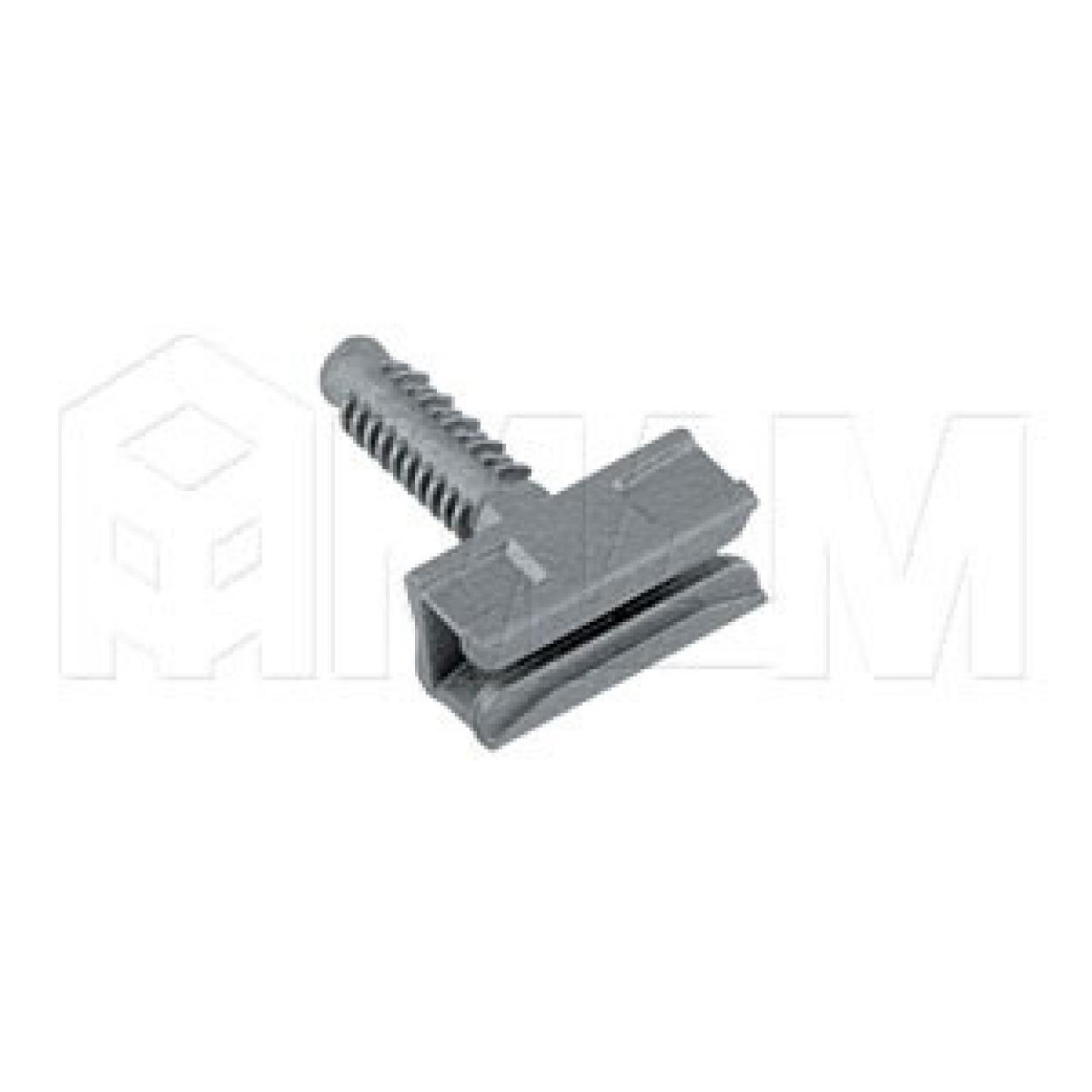 ZERO Скрытый тыльный полкодержатель для деревянных полок толщиной от 18 мм с фиксацией