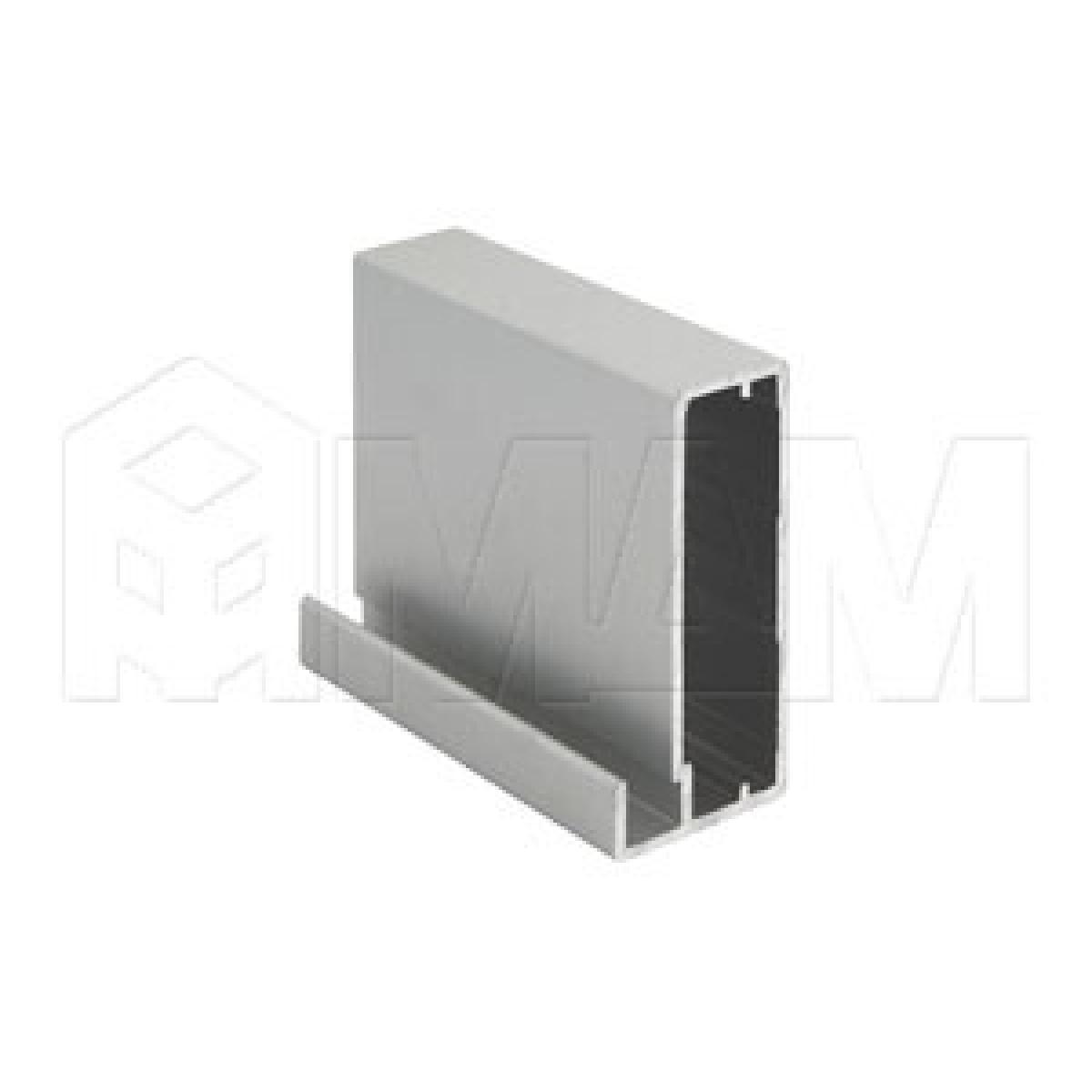 INTEGRO Профиль рамочный широкий, 45х20х8, серебро, L-6000