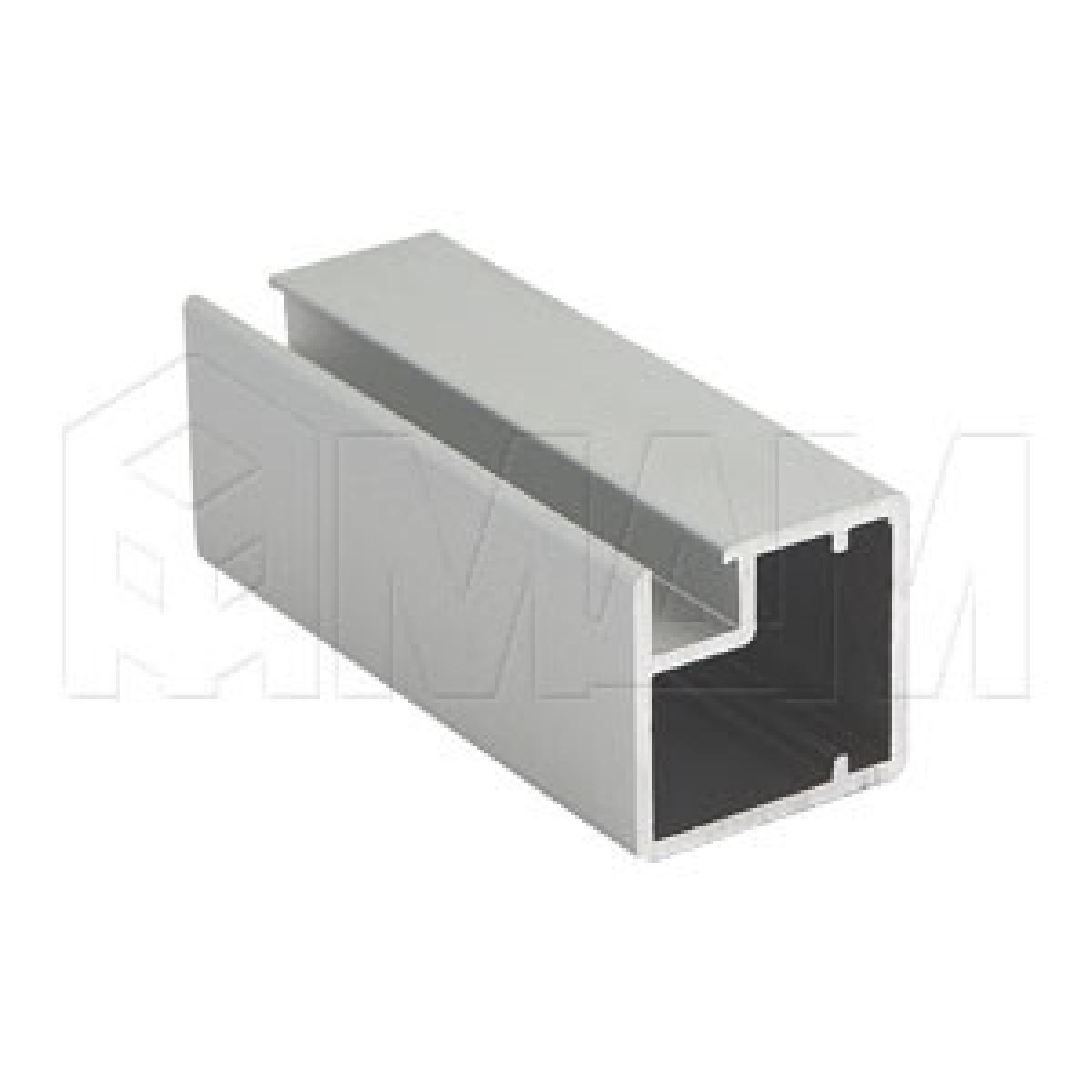 INTEGRO Профиль рамочный узкий, 19х20х19 мм, серебро, L-6000