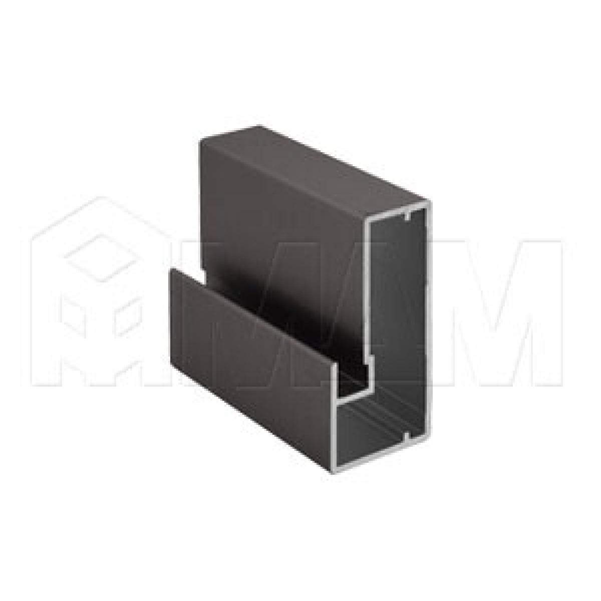 INTEGRO Профиль рамочный широкий, 45х20х20, бронза, L-6000