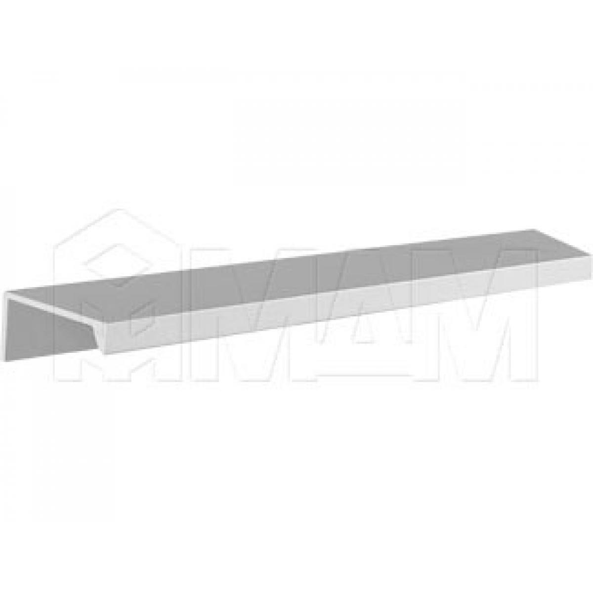 Профиль-ручка крепление саморезами алюминий, L-3000мм