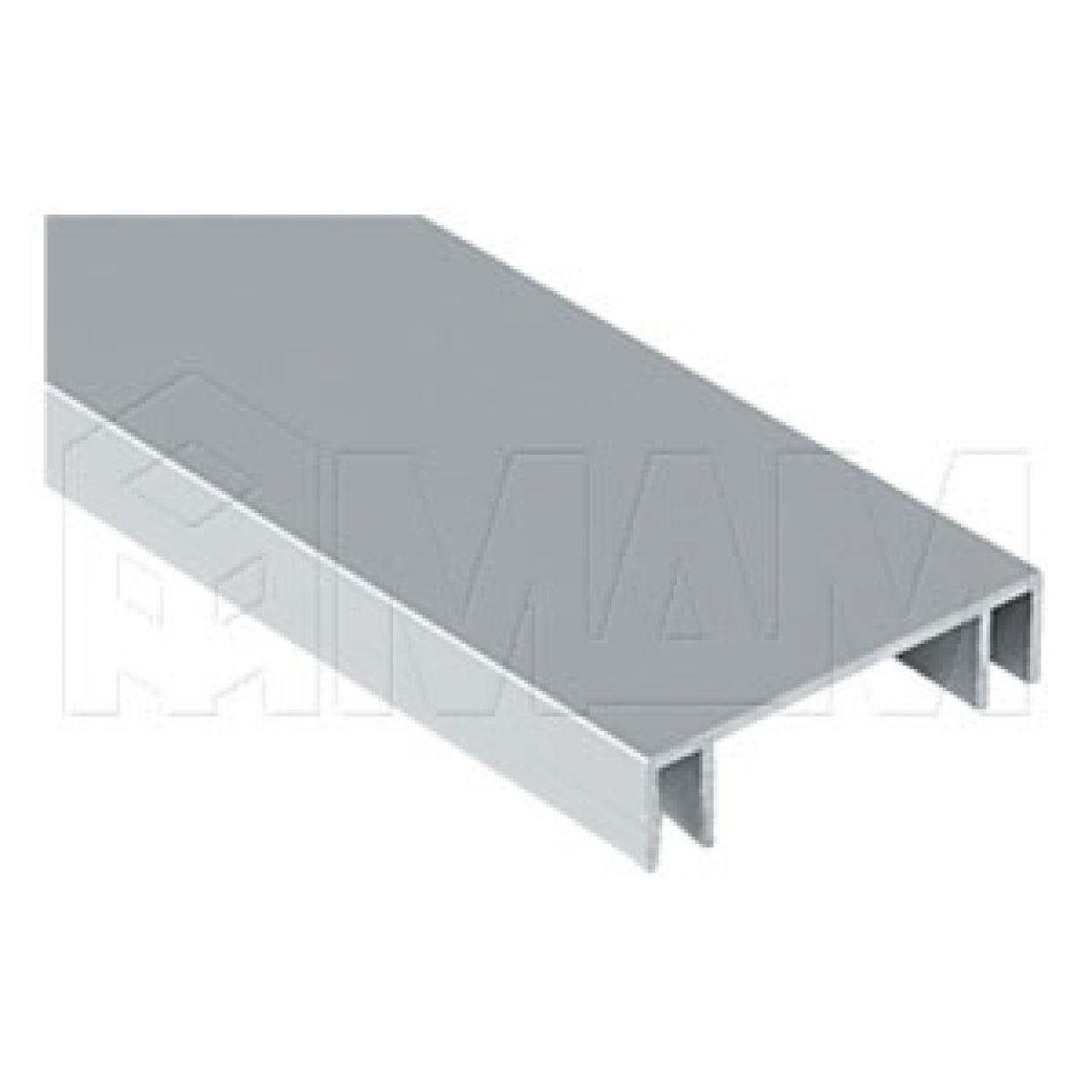 MiniCabinet Направляющая верхняя двойная, серебро, L-5500