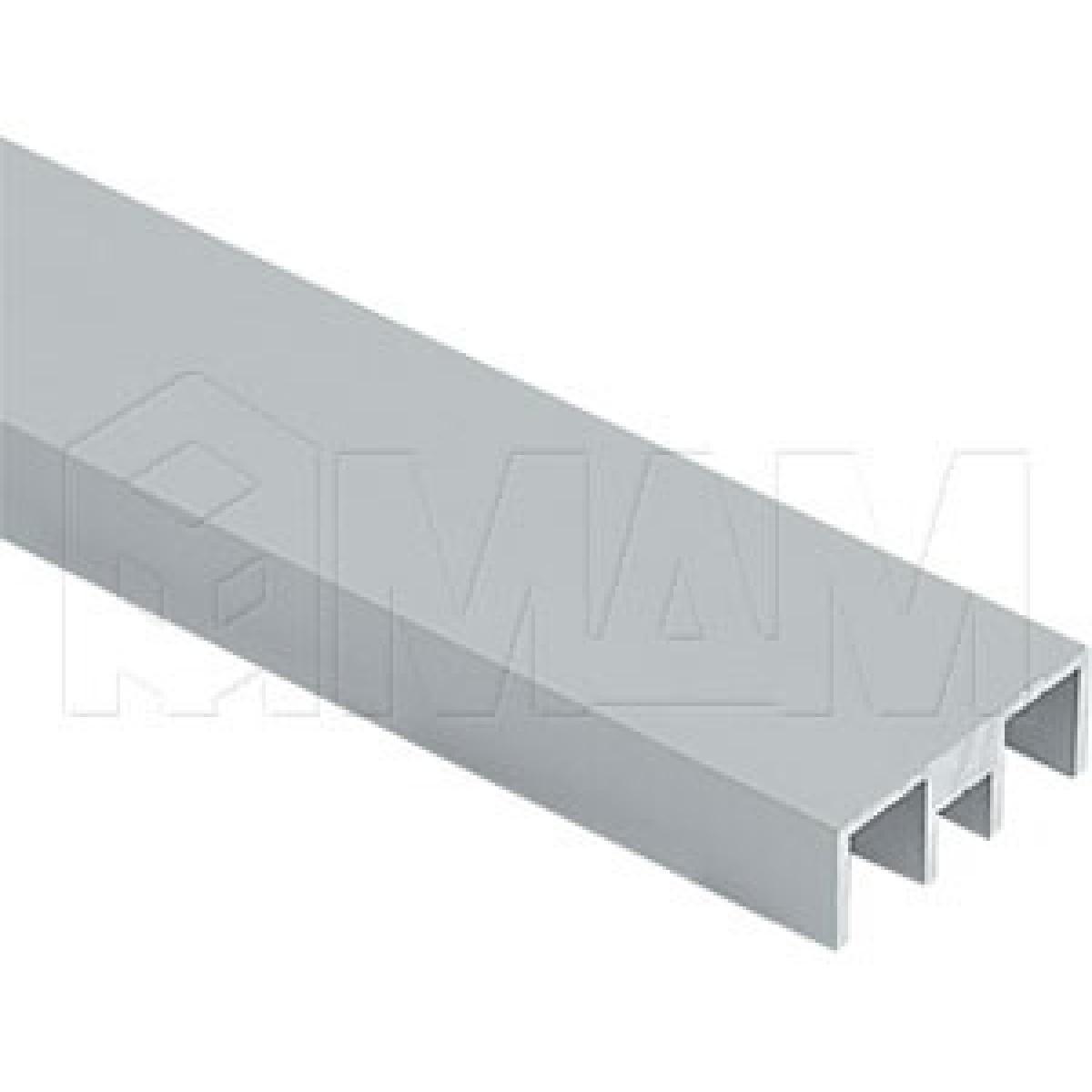 ДУКО Направляющая верхняя, серебро, L-5000
