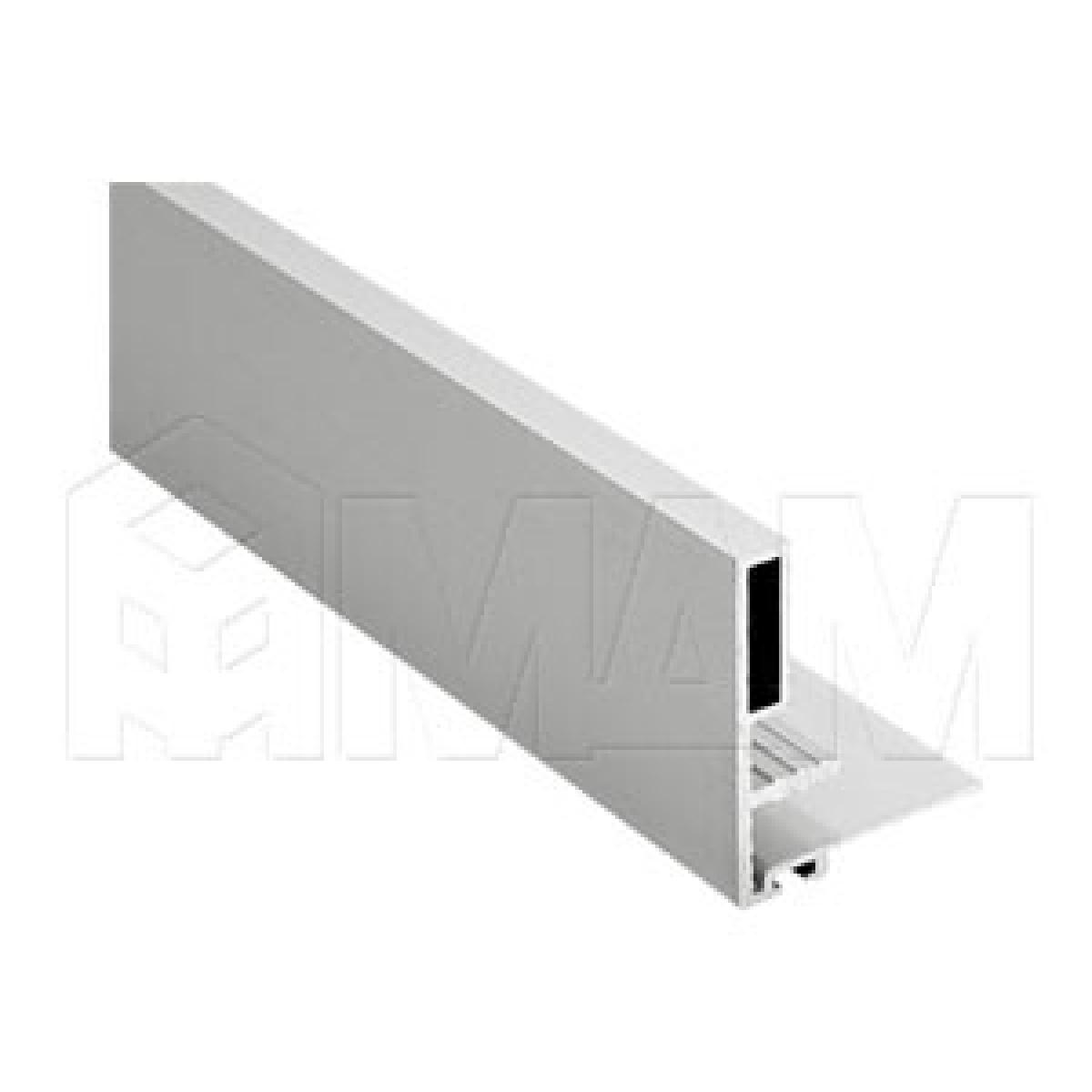 PS10 Профиль-ручка станд., для фасада 18 мм, серебро, L-5300