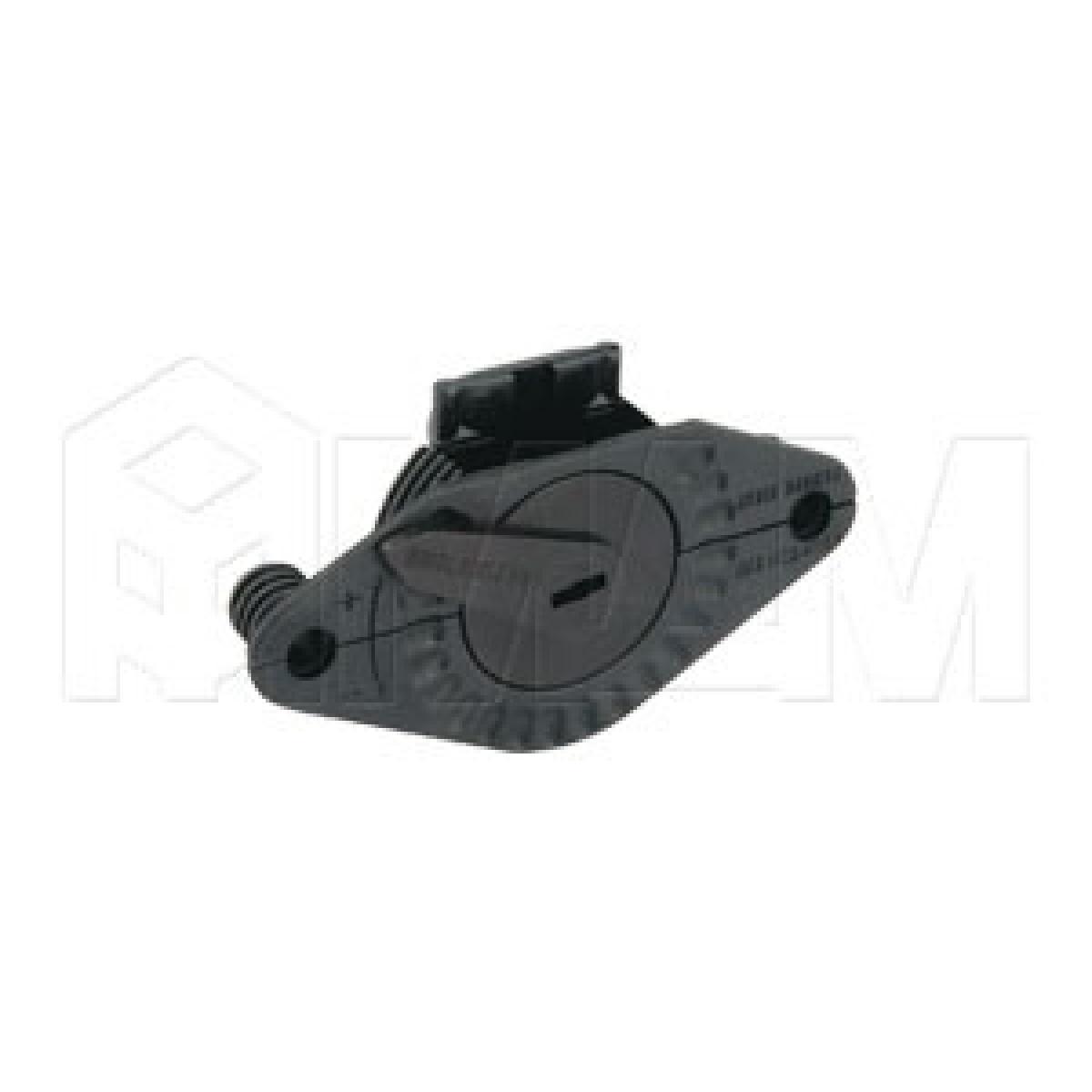 PS03 Ригель верхн. с ручной регул., черный