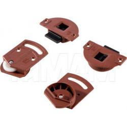 IKM15 Комплект роликов для 1 двери, 15 кг (2 верхних, 2 нижних)