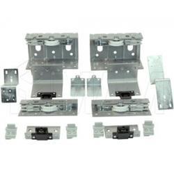 PS10 Комплект роликов для двухдверного шкафа с электроприводом, толщина фасада до 28 мм