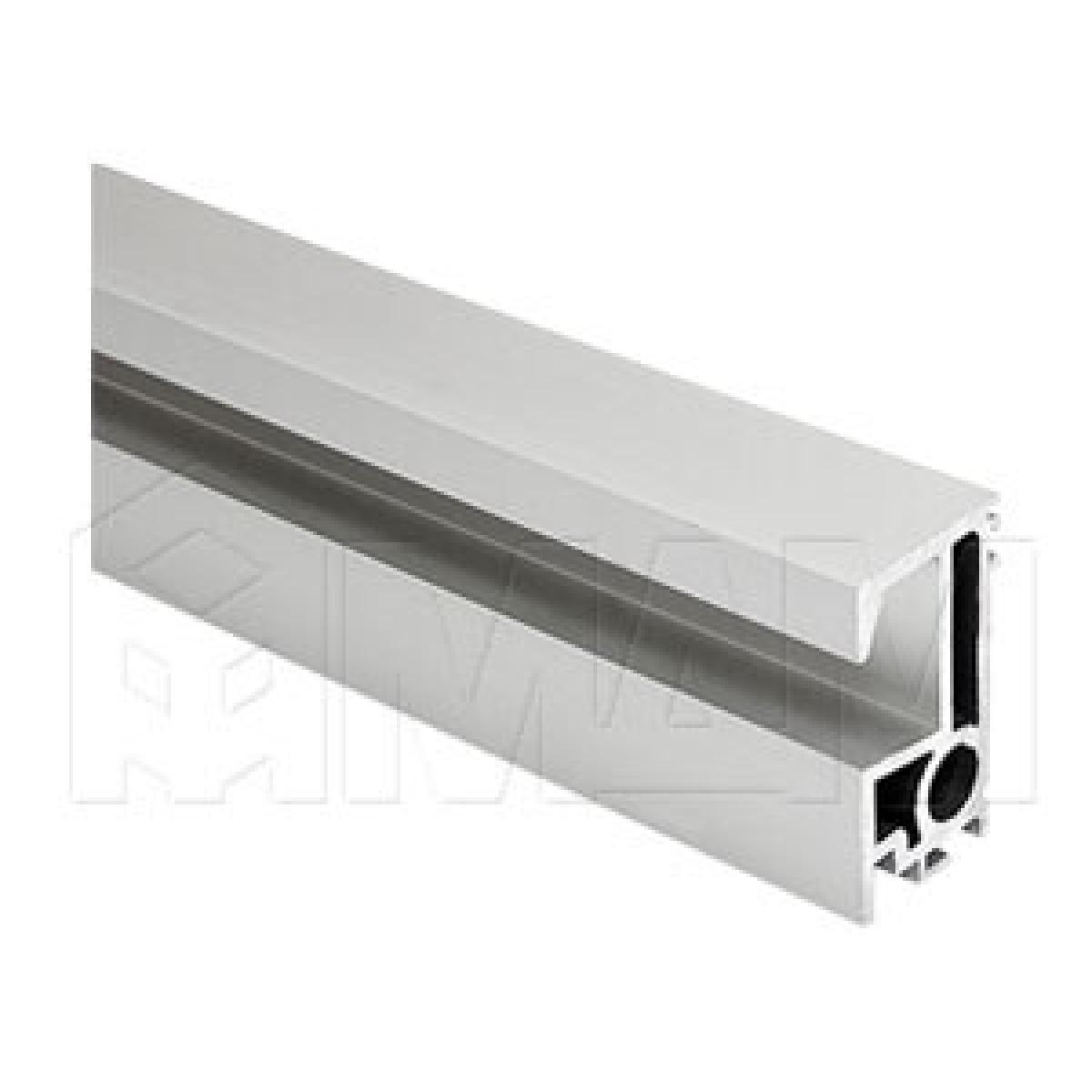 PS19.5 Вертик. профиль-ручка., серебро, L-6100