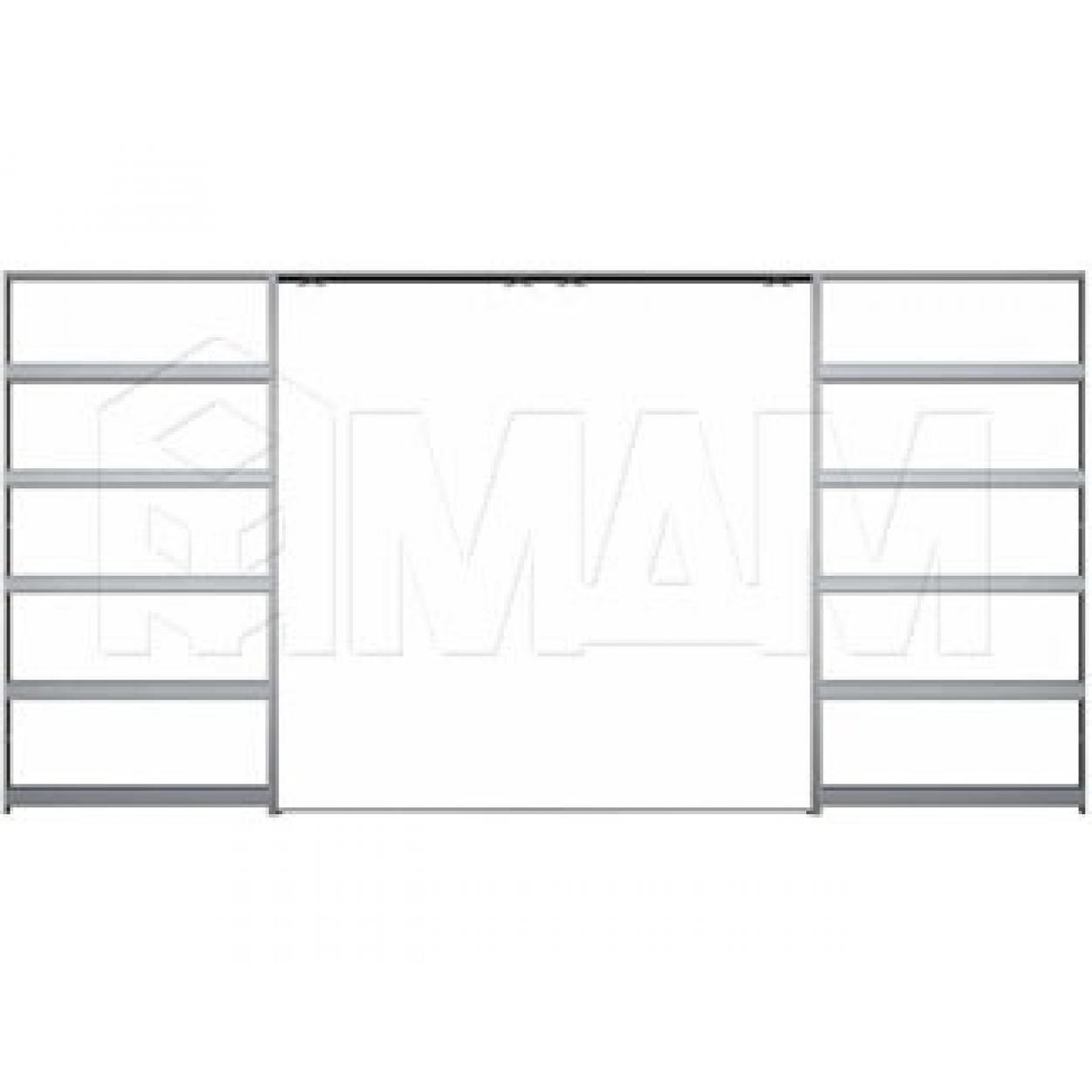 GUSTAVSON Пенал для двух дверей, толщина 125 мм