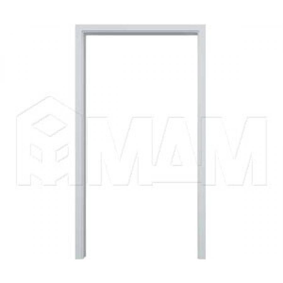 GUSTAVSON Рамка и наличники для одной двери шириной 600 мм, толщина 100 мм, МДФ, белый