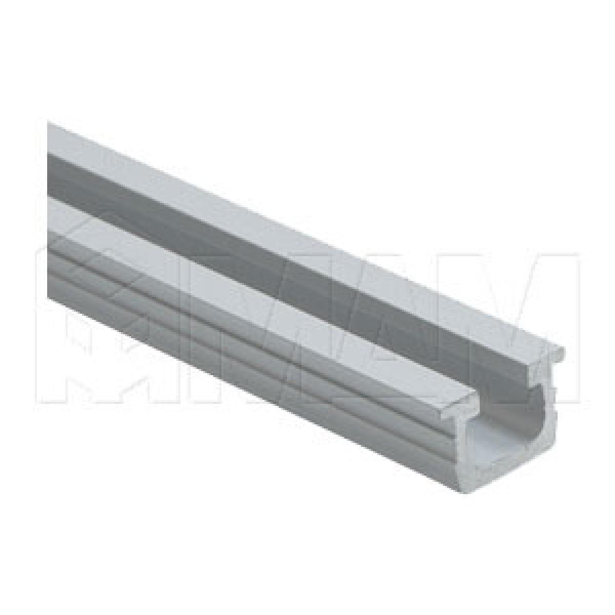 PS03 Направляющая верх/низ, серебро анодир., L-6000