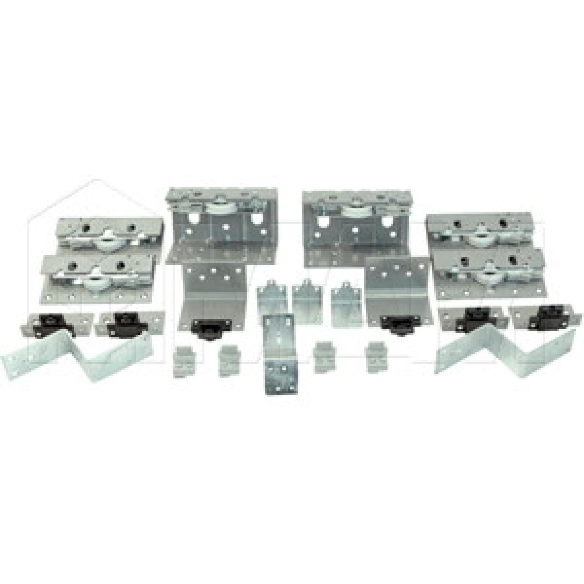 PS10 Комплект роликов для трехдверного шкафа с электроприводом, толщина фасада до 23 мм