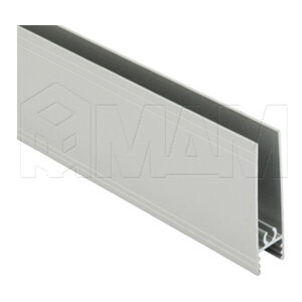 INTEGRO Горизонтальный профиль нижний серебро, L-6000