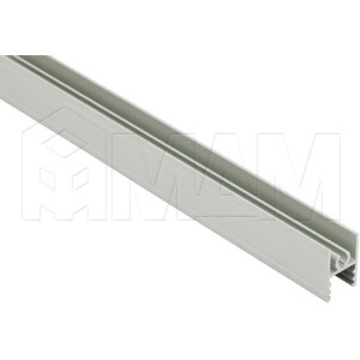 INTEGRO Горизонтальный профиль верхний серебро, L-6000