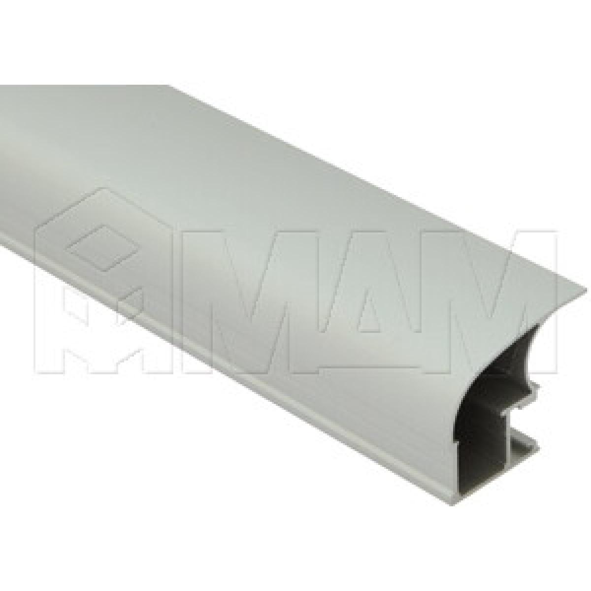 INTEGRO Широкая профиль-ручка асим. серебро, L-5400