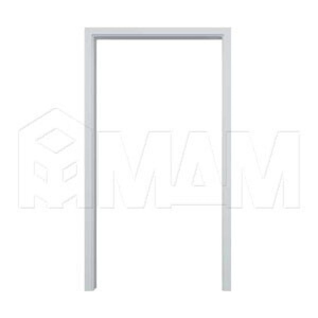 GUSTAVSON Рамка и наличники для одной двери шириной 1000 мм, толщина 125 мм, МДФ, белый