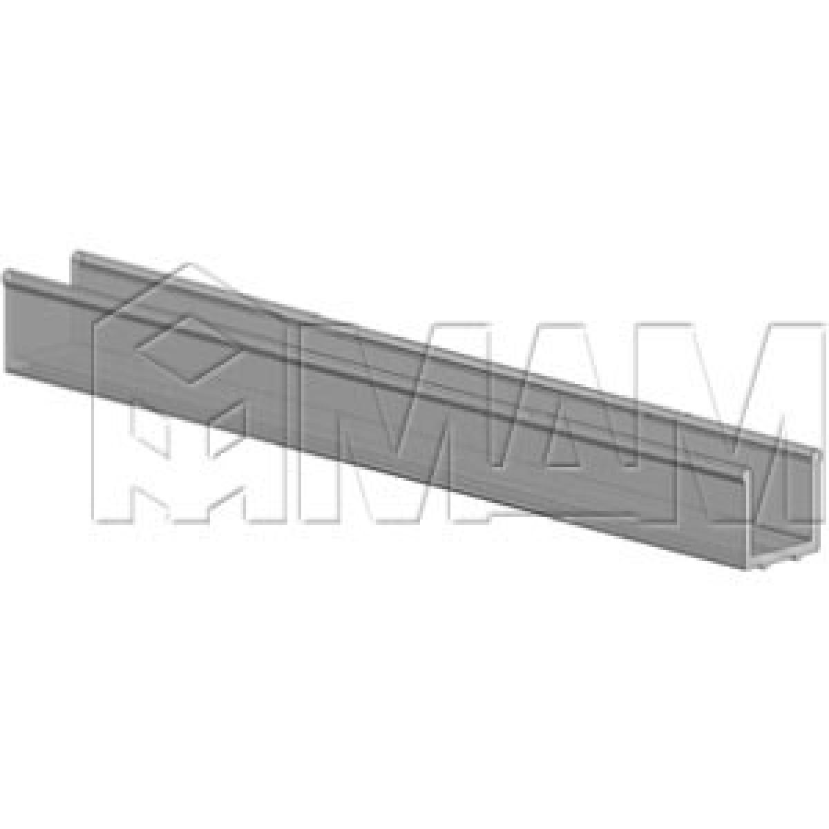 PS19 Уплотнитель для стекла, толщ. стенок 0,8 мм, L-3000