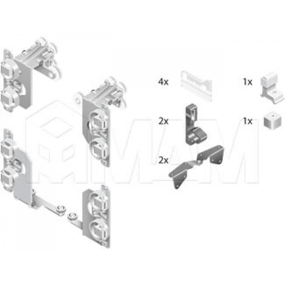 PS11 Комплект роликов и аксессуаров для складной двери