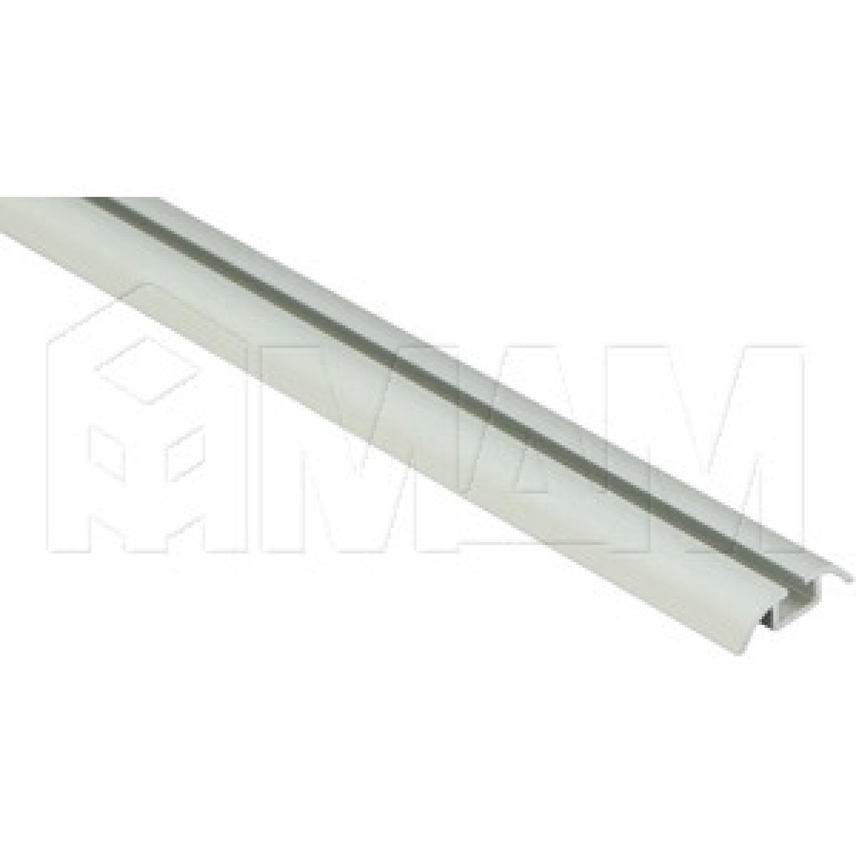 INTEGRO Направляющая одинарная нижняя серебро, L-6000
