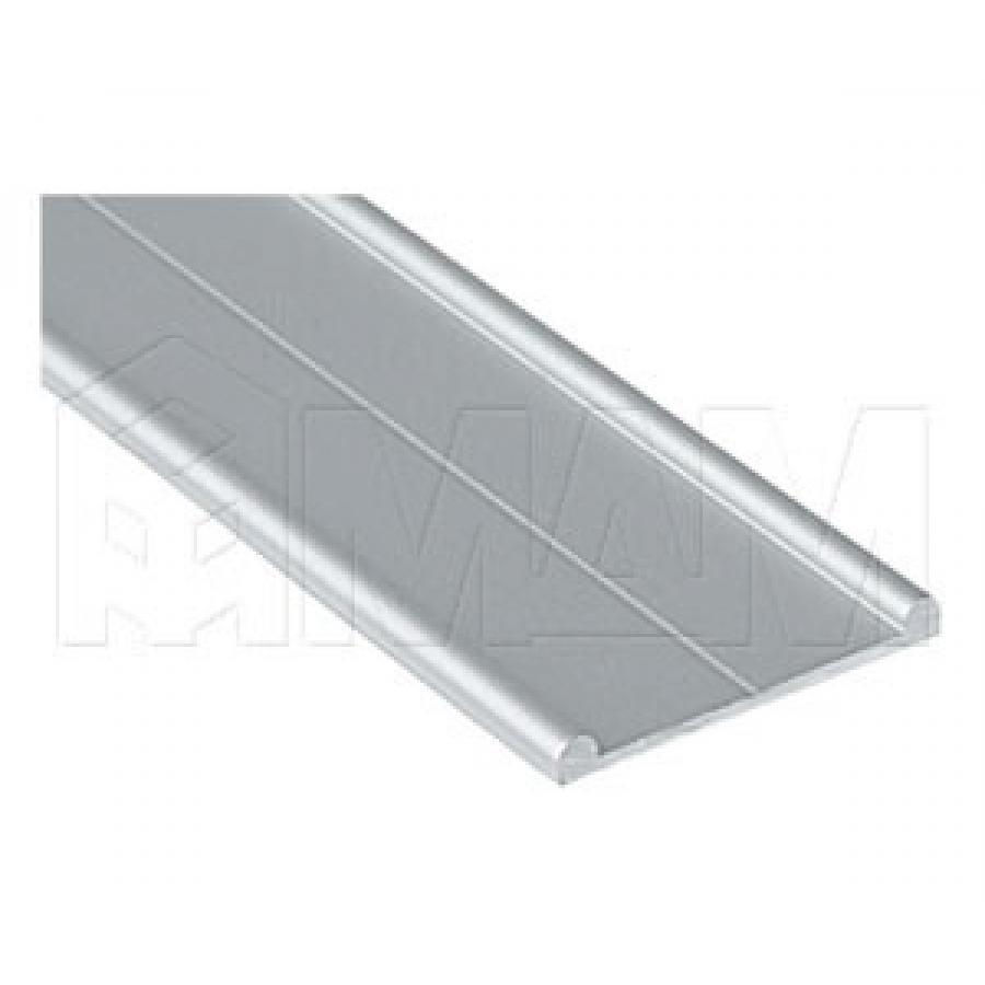 MiniCabinet Направляющая нижняя двойная, серебро, L-5500