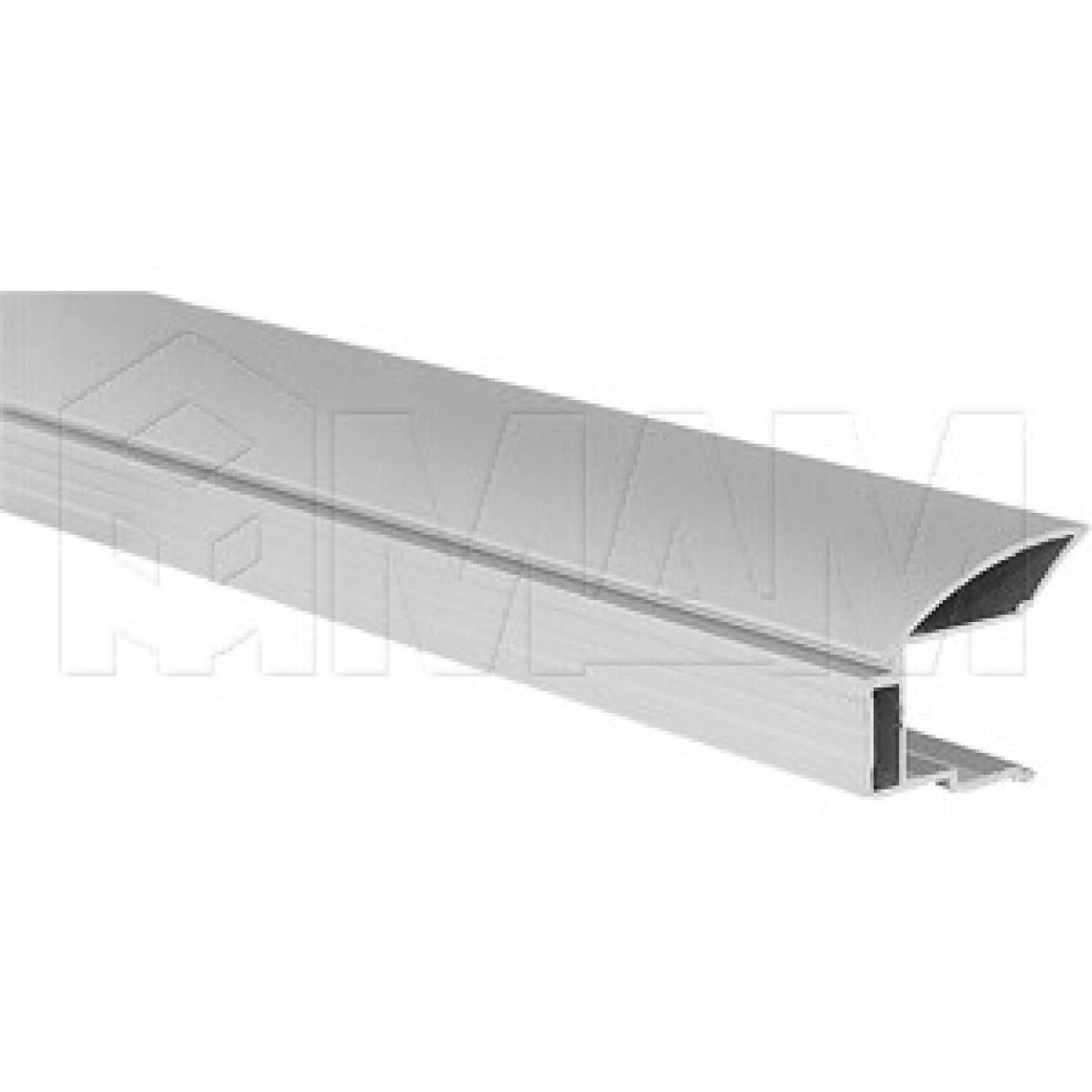 MULTIOMEGA Профиль-ручка для фасада 16 - 18 мм, серебро, L-2750
