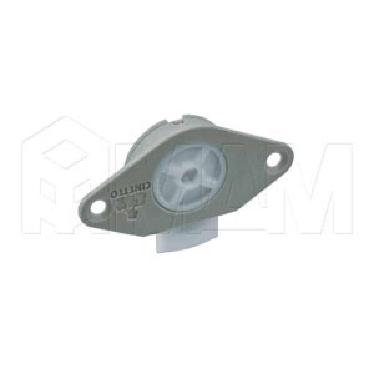 PS22 Ролик нижн. с шар. подш., 40 кг/дверь, серый
