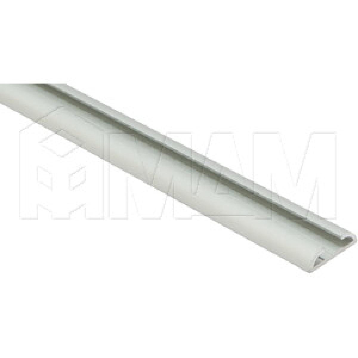 INTEGRO Направляющая для распашной двери серебро, L-6000