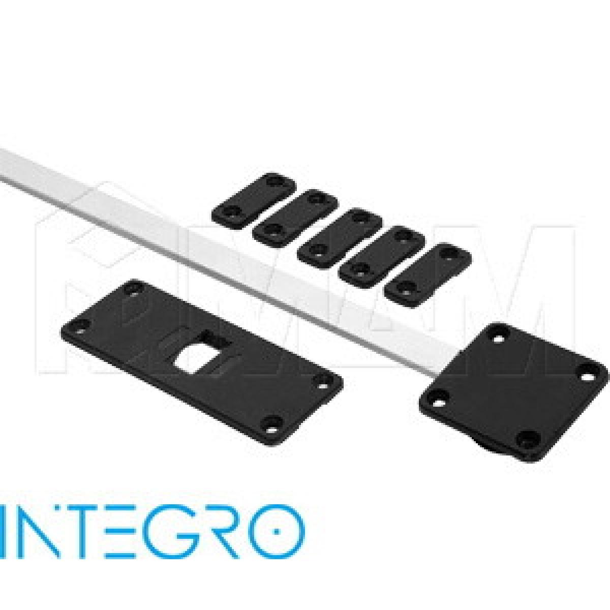 INTEGRO Корректор фасада, врезной, регулировка по середине, L 1200-2300 мм, компл. на 1 дв.