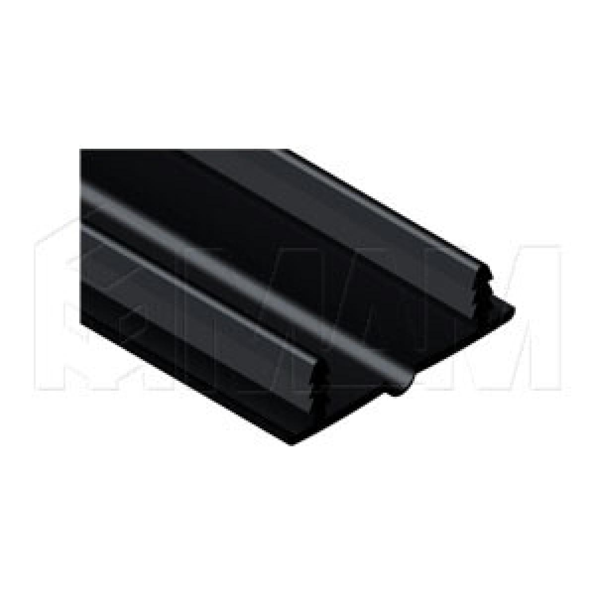 PS11 Профиль-заглушка, черный, L-2600