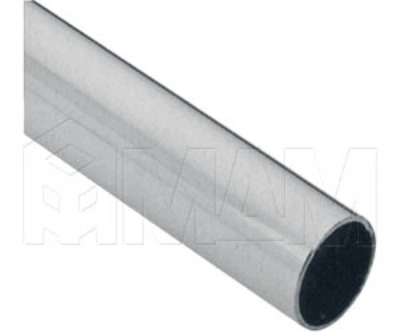 Труба круглая D25 мм, хром, L-3000