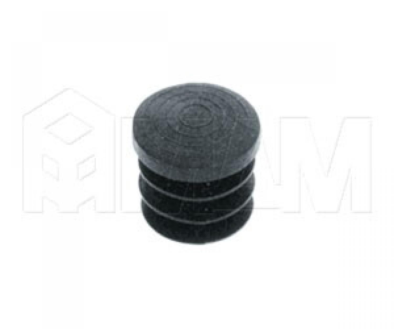 Заглушка (пластиковая, D=25 мм) черный