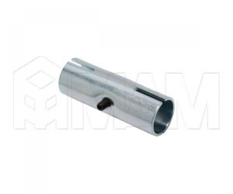 Соединитель (торцевой внутренний 2-х труб) оцинк. D=32мм