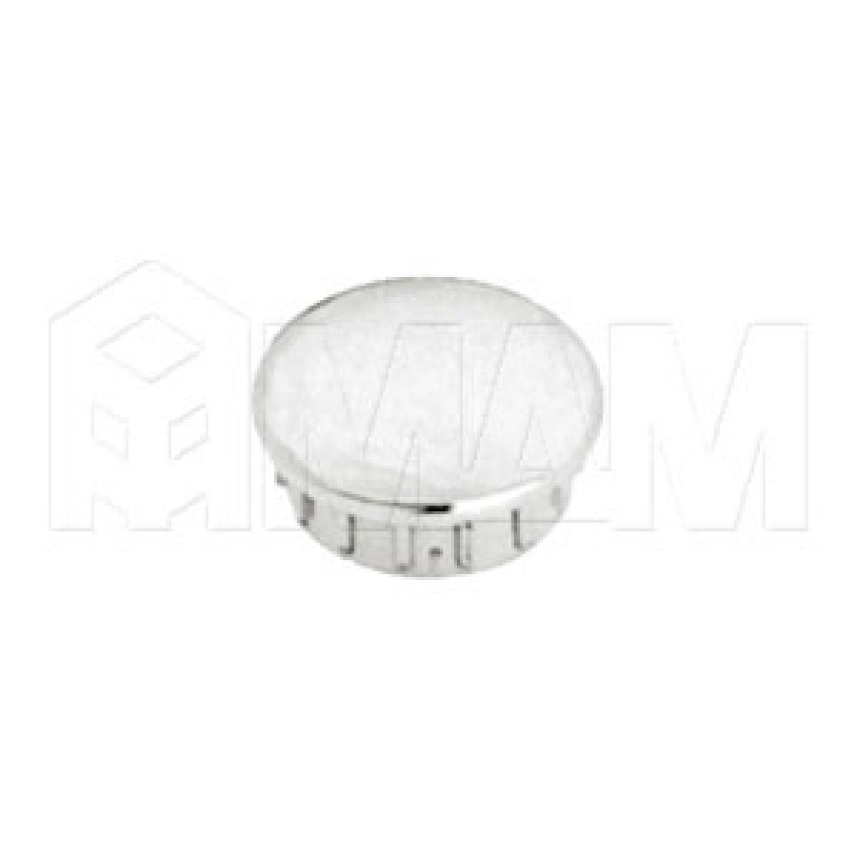 Заглушка (пластиковая, D=32мм) хром