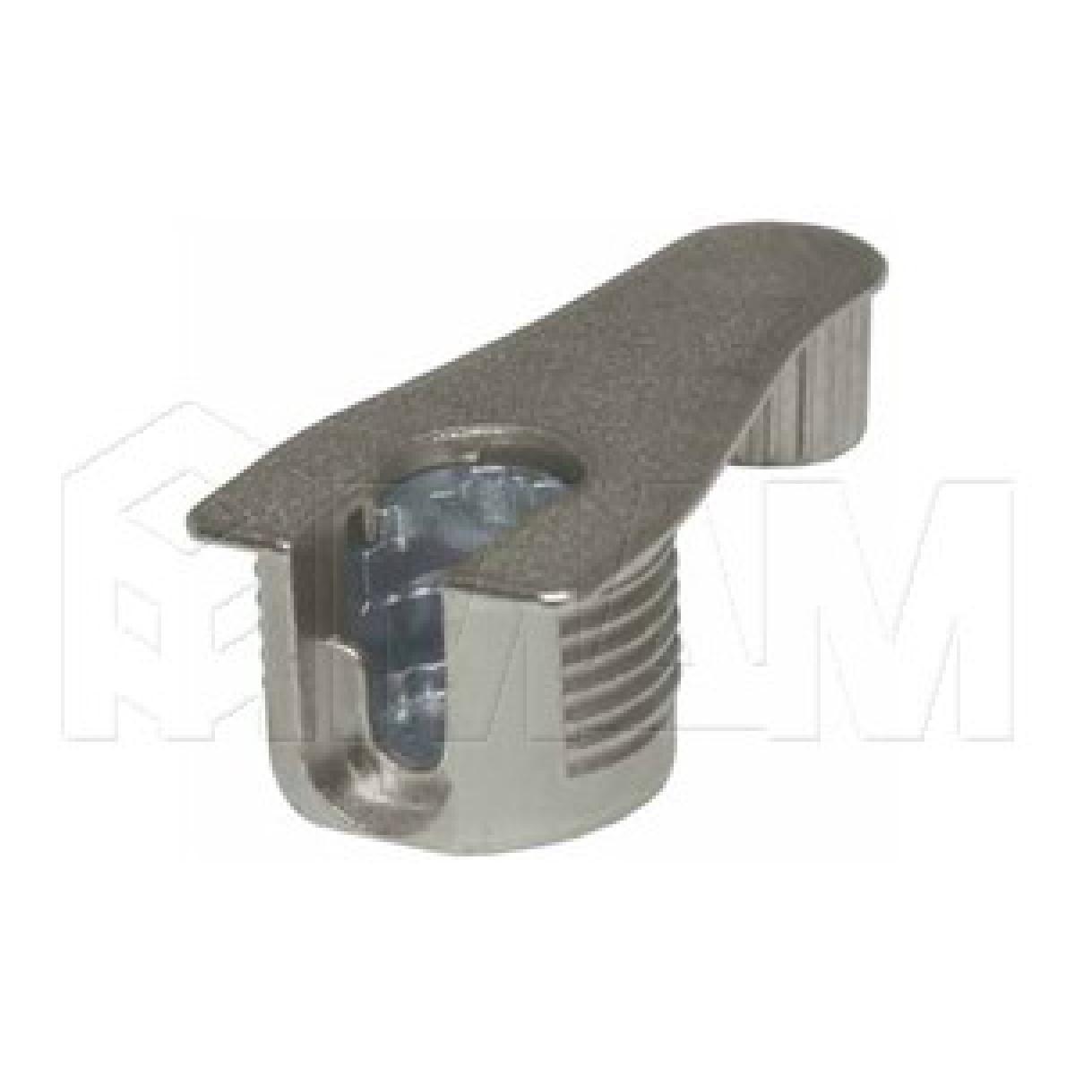 Эксцентрик усиленный в металлическом корпусе с дополнительной футоркой 16 мм с бортиком, никель