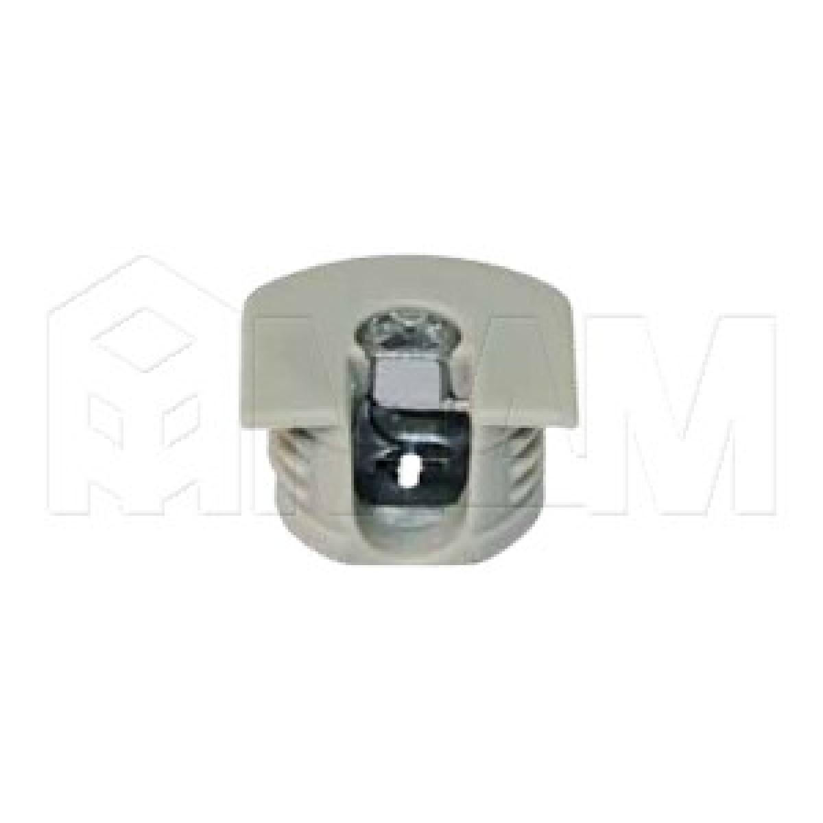 Эксцентрик усиленный в пластиковом корпусе 16 мм, серый