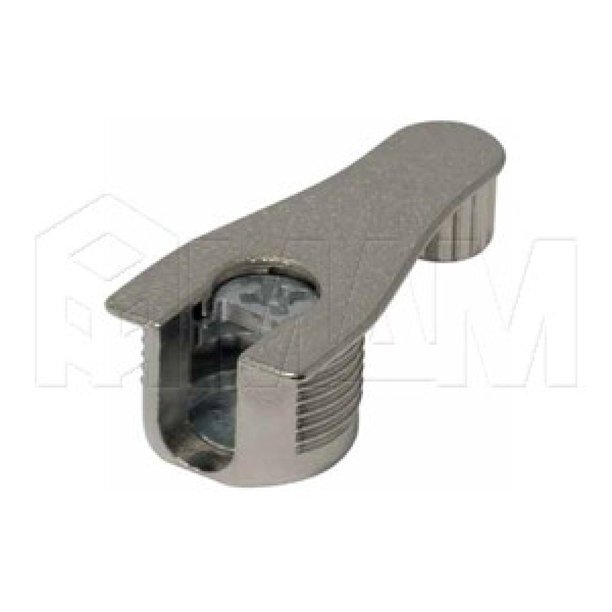 Эксцентрик усиленный в металлическом корпусе с дополнительной футоркой 16 мм, никель