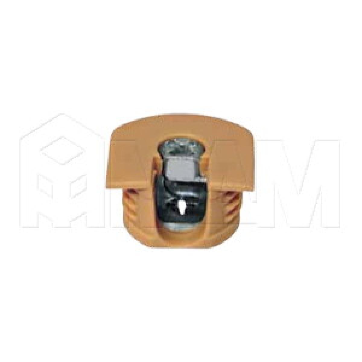 Эксцентрик усиленный в пластиковом корпусе 16 мм, бук