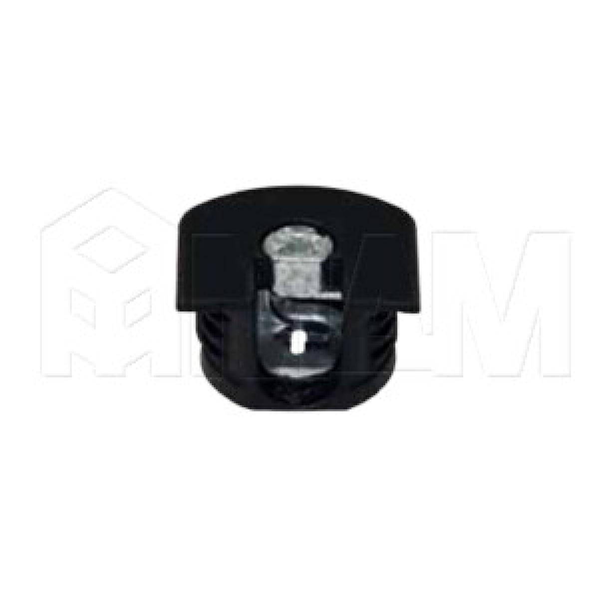 Эксцентрик усиленный в пластиковом корпусе 16 мм, черный