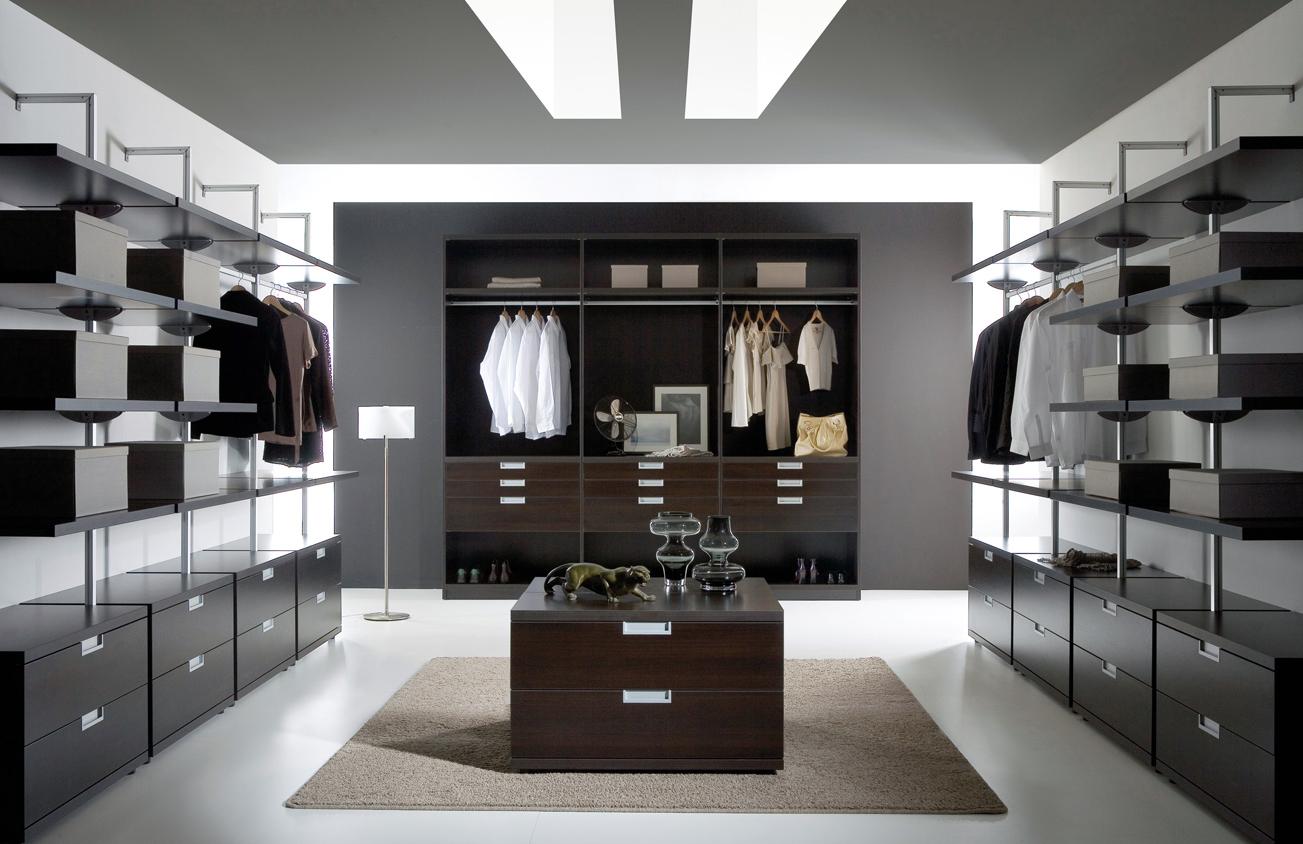 гардеробные комнаты планирование